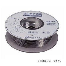 【まとめ 3セット】 日本アンテナ SW140N(200N) アンテナ支線ステンレスワイヤー1.4mm200M   B07KNSK6G4
