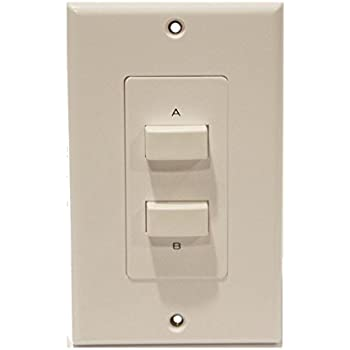 Amazon Com In Wall A B A B Stereo Speaker Selector Switch