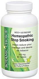 Formule homéopathique pour arrêter de fumer - 300 mg, 90 comprimés