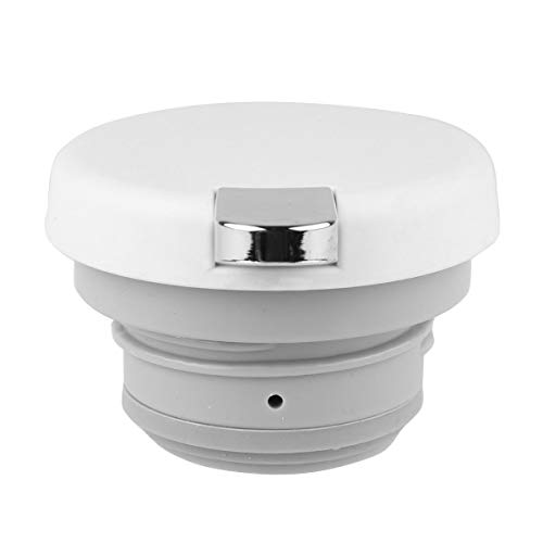 CHICTRY Hot Water Kettle Lid Thermos Coffee Pot Teapot Water Pitcher Lid Replacement with Press Button Type A Off-White One Size by CHICTRY (Image #2)