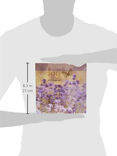 Field of Lavender Inspirational Joy Botanical Flowers 3dRose 8 x 8 x 0.25 Inches Mouse Pad mp/_99176/_1