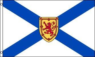 Amazon Com Az Flag Nova Scotia Flag 3 X 5 Canada Canadian Region Of Nova Scotia Flags 90 X 150 Cm Banner 3x5 Ft Garden Outdoor