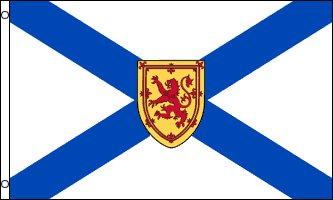 NOVA SCOTIA FLAG 3' x 5' - CANADA - CANADIAN REGION OF NOVA