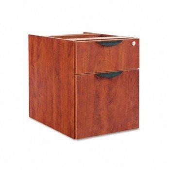 Alera® Valencia Series 3/4 Box/File Pedestal File PEDESTAL,B/F HNG16X22,MC 17345 (Pack (Mc Valencia Series)