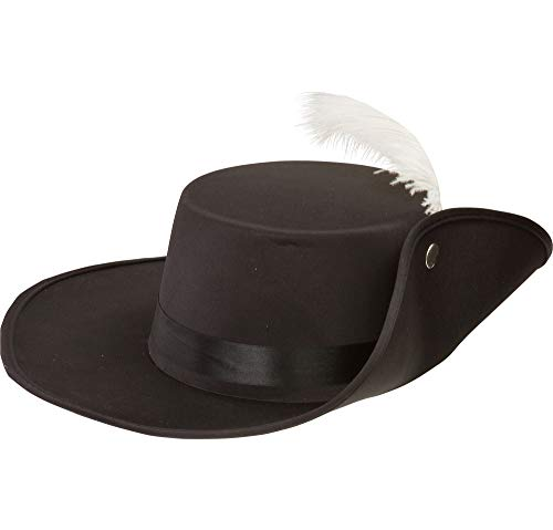 Musketeer Hat - Costume Accessory -
