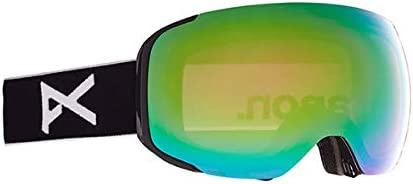 Anon Men's M2 Goggle with Spare Lens - Asian Fit, Black/Perceive Variable Green