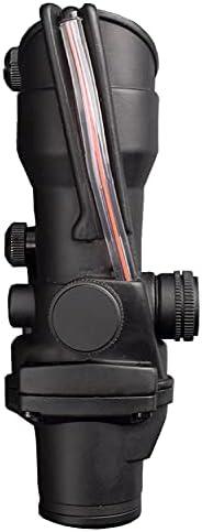 Fiber optic red dot sight
