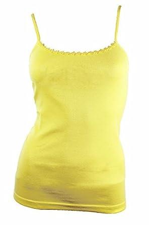 great deals clearance sale really comfortable Pariella - Débardeur - Femme - Jaune - Citron - Large