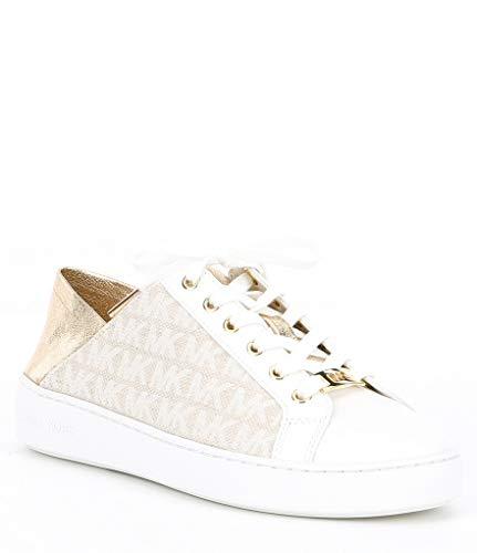Michael Michael Kors Women's Shoes Bailee Sneakers Low Top, Soft Pink, Size 9.0