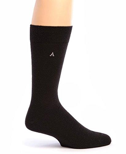 Warrior Alpaca Socks - Men's Trouser Alpaca Socks Black L (Trousers Wool Cashmere)