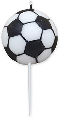 Gicaprice vela tarta Balón Fútbol 9 cm: Amazon.es: Hogar