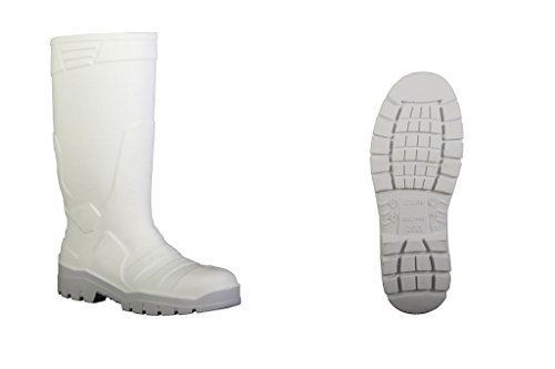 Dikamar  DIKAMAR ALPHA SAFETY white S4, bottes en caoutchouc mixte adulte