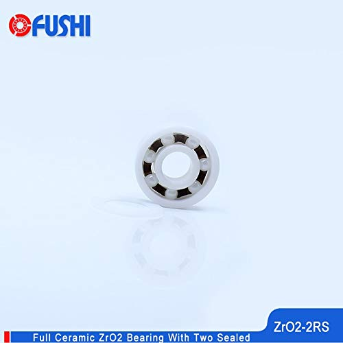 Fevas 6900 Full Ceramic Bearing ZrO2 1PC 10226 mm P5 6900RS Double Sealed Dust Proof 6900 RS 2RS Ceramic Ball Bearings 6900CE