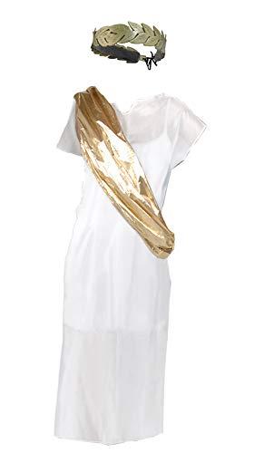 Toga And Laurel Leaf Headband Costume set