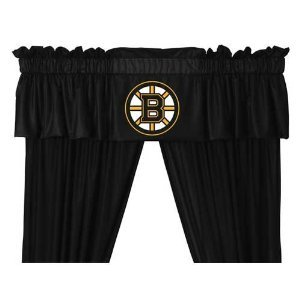 Boston Bruins Window Valance - 1