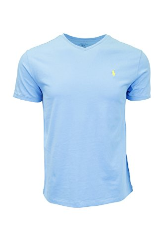 Polo Ralph Lauren Mens T-shirt V-neck 2016 model (Large, Hawaiian - Ralph Male Lauren Models