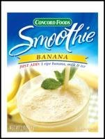 Banana Smoothie Mix / Concord Foods 2 oz/ (Pack of 3) ()