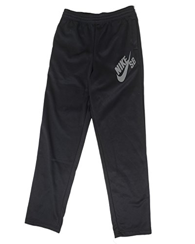 Nike Big Boys' Therma-Fit SB Logo Skateboarding Pants (S (8-10 YRS), Black)
