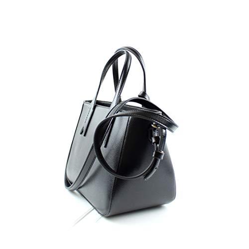 Twin Handbag Handle Emporio Noir Femme Armani 1wRxSqz