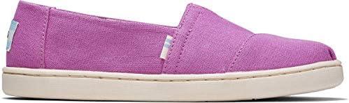 TOMS, De Lona, Unisex-Sneakers für Kinder, Pink - Tela Rosa - Größe: 37 EU