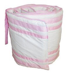 Soho Cradle Bumper, color: Pink, size: 18x36