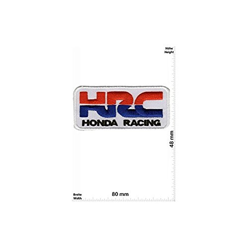 Set of 5 HRC HONDA Racing Team Motorbike Motorsport Motorcycles Biker Vest Jacket T shirt Sew Iron on Patch Gift Mom Dad