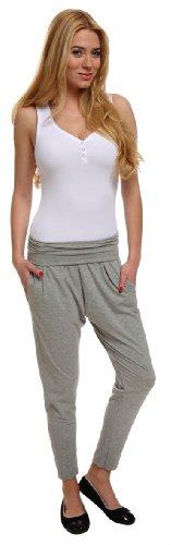 Italian Fashion IF Leggings Deportivas para Mujer 7/8 Grey