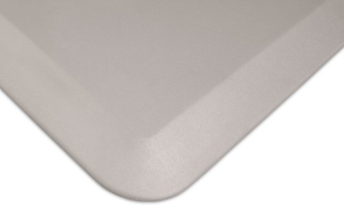 """NewLife by GelPro Anti Fatigue Mat: Eco-Pro Foam Anti-Fatigue Comfort Mat - Standing Desk Pad - Professional Floor Mats for Commercial & Industrial Work - 20"""" x 72"""" Non Slip Ergonomic Mat - Taupe 104 Rug"""