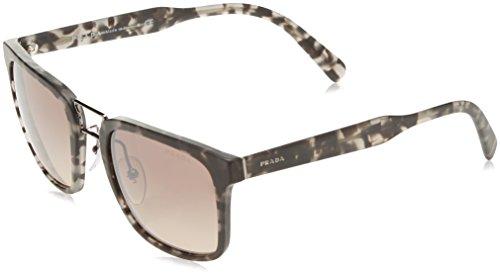 Prada PR14TS VH34P0 Rectangle Sunglasses, Matte Grey Havana, - International Center Sunglass