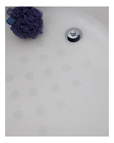 Clear Bath Tub Anti-Slip Discs - Non Skid Adhesive Shower Stickers Appliques Treads by Unknown