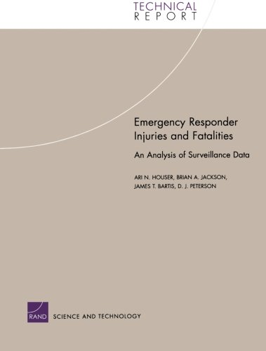 Emergency Responder Injuries and Fatalities: An Analysis of Surveillance Data