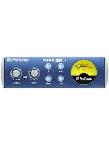 Tube Preamp Microphone Channel (Presonus TubePre v2 Tube Preamplifier DI Box)