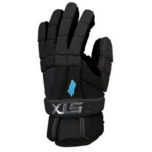 STX Lacrosse 12-Inch K-18 Lacrosse Gloves, Black, Medium by STX by STX