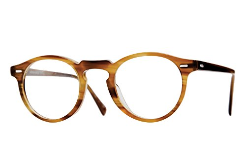 522a80ddac Oliver Peoples 5186 Men s Gregory Peck Raintree Oval 45mm Eyeglasses ...