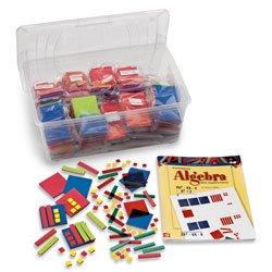 Nasco Foam Algebra Tiles Classroom Set - Math Education Program - TB21935 - Algebra Tiles Student Set