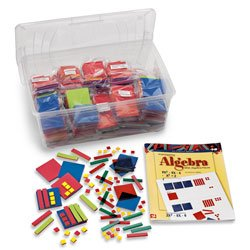 Nasco Foam Algebra Tiles Classroom Set - Math Education Program - TB21935