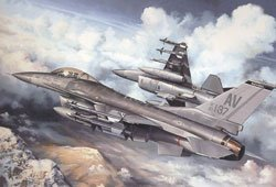 F-16 Fighter Buzzard Boys From Aviano - 1000 Piece Jigsaw Puzzle by White Mountain