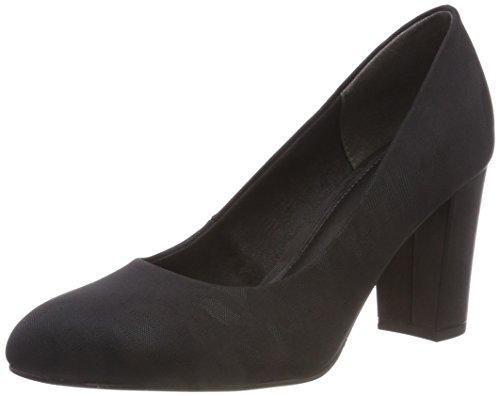 s.Oliver Women's 22403-31 Closed-Toe Pumps Black (Black Camouflage 14) 8LAmwxBaP