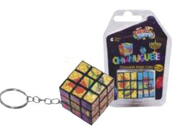 Chanukah Magic Cube - Small Rubik's Cube Style Game with Hanukah Pictures and Designs - Chanuka Toys by Izzy 'n' Dizzy