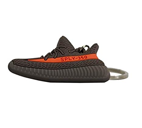 best website 99517 0f874 Yeezy Boost 350 V2 Fashion Key Chains 2D - Black/Red (Breds ...