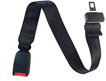 21MM Tongue Seat Belt Extension 23 66CM ADJUSTABLE Length Safety Car