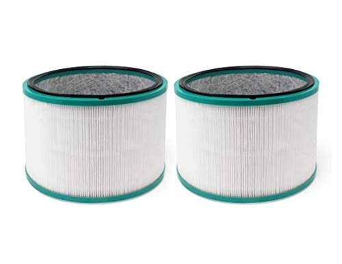 Fette Filter - Air Purifier Filter Compatible with Dyson Desk Purifier HP01, HP02 & DP01 Models. Compare to Part # 968125-03. (Pack of ()