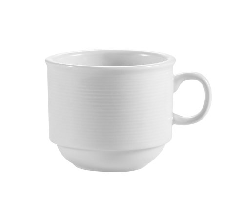 CAC China HMY-35 2-1/2-Inch Harmony Porcelain C.D. Cup, 3.5-Ounce, White, Box of - Ounce 3.5 Porcelain