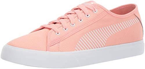PUMA Men's Bari Sneaker Peach Bud White, 9 M US