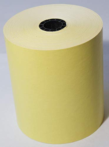 3 1/8'' x 230' Canary/Yellow Thermal 50 Rolls
