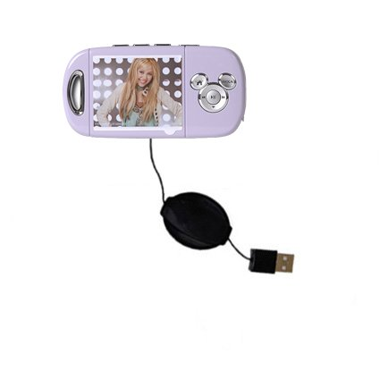 - Compact and retractable USB Power Port Ready charge cable designed for the Disney Hannah Montana Mix Stick MP3 Player DS17032 and uses TipExchange