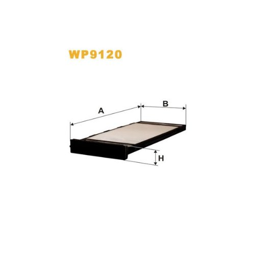 Wix Filters WP9120 Cabin Air Filter:
