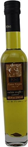 (Pons White Truffle Infused Spanish Extra Virgin Olive Oil, 250ml (8.5oz))
