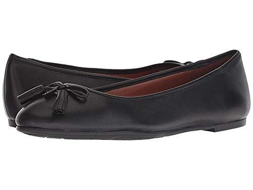 Coach Flats Shoes - Coach Women's Bea Leather Flat Black 6 M US