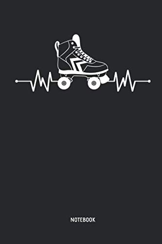 Eighty Clothes Ideas (Roller Skating | Notebook: Womens Blank Lined Heartbeat Roller Skating Journal - Great 70s & 80s Retro Accessories & Mother's Day Gift Idea Roller Skating Girls, Kids &)